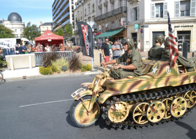 Périgueux Vintage Days 2016 - Camp militaire