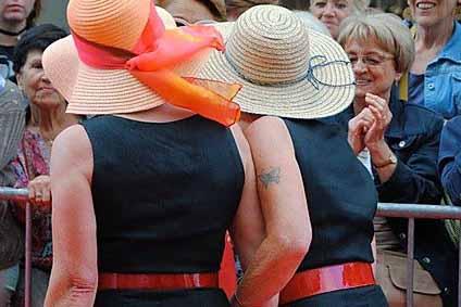 Périgueux Vintage Days 2015 - Défilé de mode Vintage