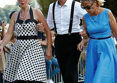 Périgueux Vintage Days 2017 - Défilé de mode Vintage